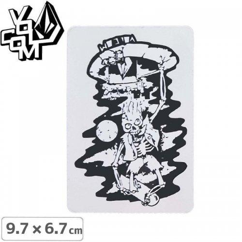 【ボルコム VOLCOM ステッカー】STICKER【9.7cm x 6.7cm】NO341