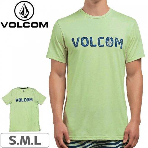 【VOLCOM ボルコム Tシャツ】BOLD SHORT SLEEVE TEE【ミストグリーン】NO105