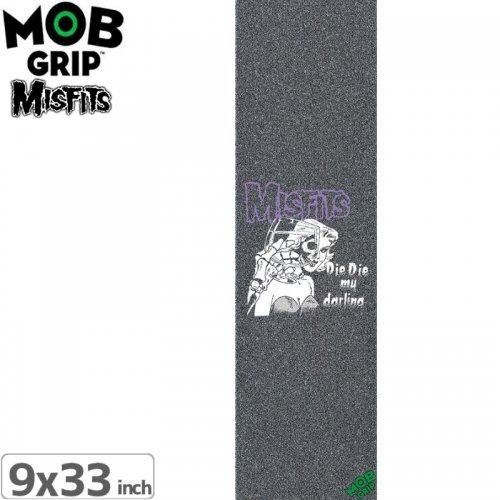 【モブグリップ MOB GRIP デッキテープ】MISFITS DIE DIE MY DARLING GRIPTAPE【9 x 33】NO136