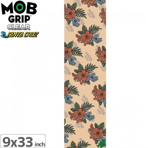 【モブグリップ MOB GRIP デッキテープ】SANTA CRUZ VACATION HAND CLEAR GRIPTAPE【9 x 33】NO187