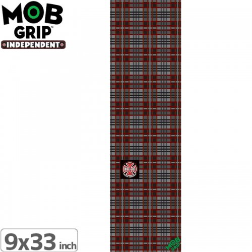 【モブグリップ MOB GRIP デッキテープ】INDEPENDENT PLAID GRIPTAPE【9 x 33】NO172