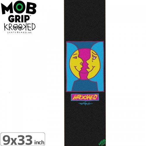 【モブグリップ MOB GRIP デッキテープ】KROOKED MOON SMILE GRIPTAPE【9 x 33】NO8
