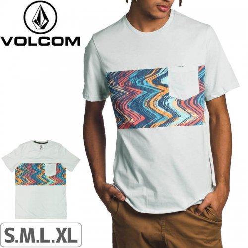 【VOLCOM ボルコム Tシャツ】LO FI SHORT SLEEVE T-SHIRT【パウダーブルー】NO109