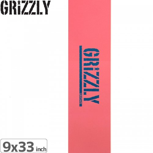 【グリズリー GRIZZLY GRIPTAPE デッキテープ】REVERSE STOMP GRIP TAPE【9x33】NO27