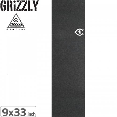 【グリズリー GRIZZLY GRIPTAPE デッキテープ】CENTRAL CUT OUT GRIP TAPE【9x33】NO28