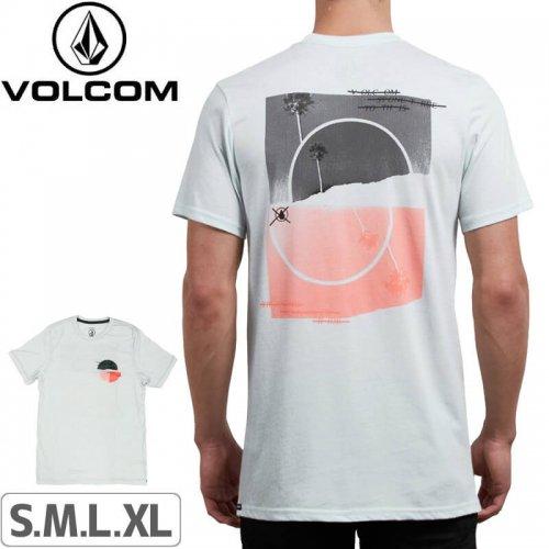 【VOLCOM ボルコム Tシャツ】OVER RIDE SHORT SLEEVE TEE【パウダーブルー】NO111