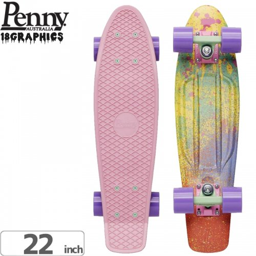 【ペニー PENNY スケートボード コンプリート】SPLASH COMPLETE [22インチ] NO79