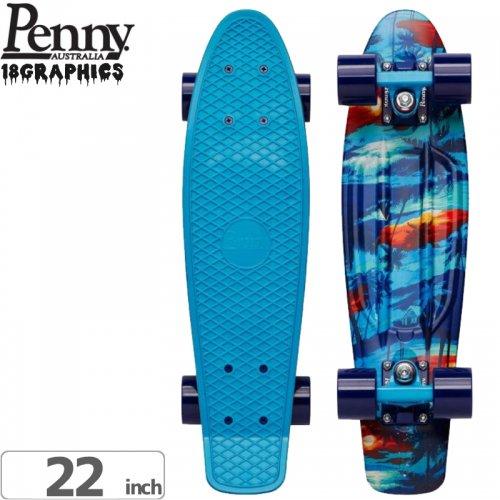 【ペニー PENNY スケートボード コンプリート】MAKANA COMPLETE [22インチ] NO80