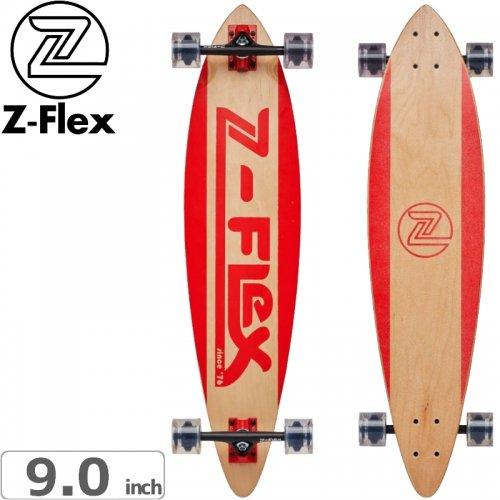 【ジーフレックス Z-FLEX スケートボード コンプリート】MOVING SIDEWALK RED PINTAIL[38インチ]NO35