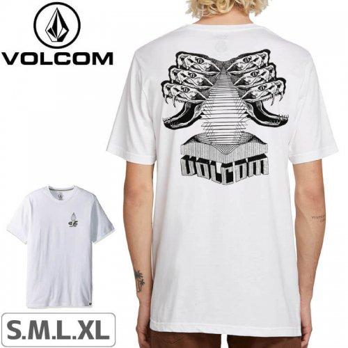 【VOLCOM ボルコム Tシャツ】POISON S/S TEE【ホワイト】NO114