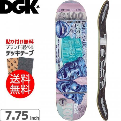 【ディージーケー DGK スケボー デッキ】PAID VAUGHN DECK[7.75インチ]NO312