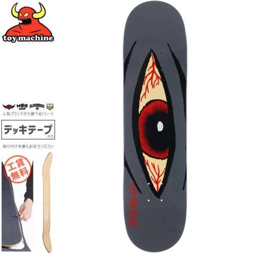【トイマシーン TOY MACHINE スケートボード デッキ】SECT EYE BLOODSHOT DECK[8.125インチ]NO164