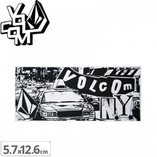 【ボルコム VOLCOM ステッカー】STICKER【5.7cm x 12.6cm】NO343