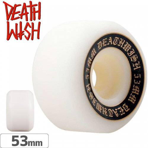 【デスウィッシュ DEATHWISH スケボー ウィール】GREAT DEATH WHEEL ORANGE【51mm 99A】NO10