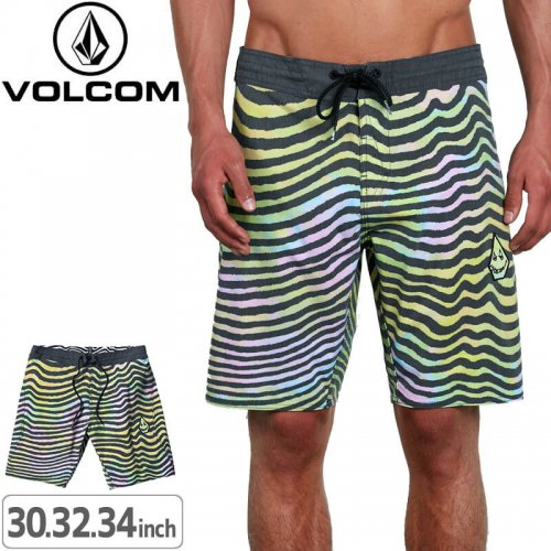 【ボルコム VOLCOM ボードショーツ】MAG VIBES STONEY 19【MLT/MID LENGTH】NO23