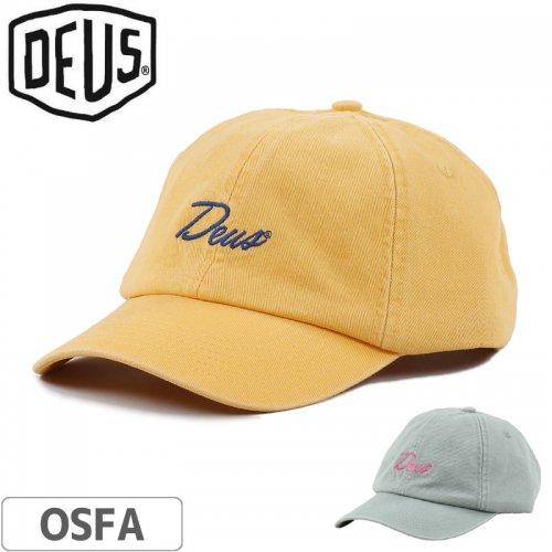 1週間SALE!【DEUS EX MACHINA デウス バイク サーフ キャップ 帽子】SUNNY 6 PANEL【2カラー】NO6