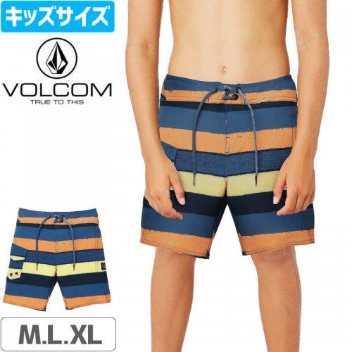 【VOLCOM ボルコム キッズ ボードショーツ】LITTLE BOYS MAGNETIC LINEY MOD BOARDSHORTS 水着 NO34