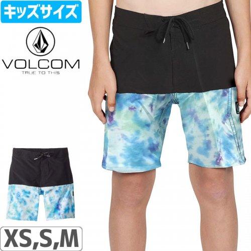 【VOLCOM ボルコム キッズ ボードショーツ】VIBES ELASTIC 水着【ビッグユース】NO36