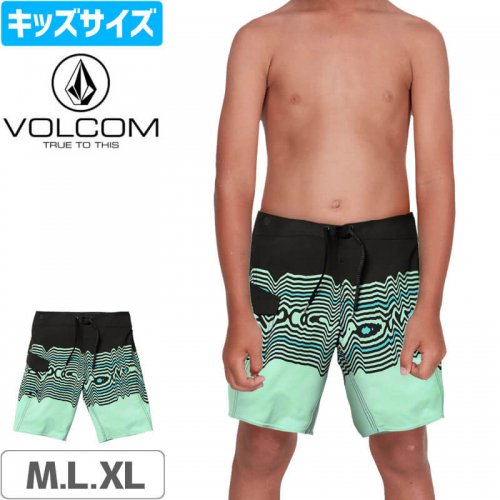 【VOLCOM ボルコム キッズ ボードショーツ】LITTLE BOYS LIDO VIBES MOD BOARDSHORTS 水着 NO38