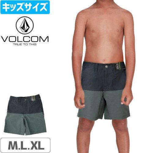 【VOLCOM ボルコム キッズ ショートパンツ】LITTLE BOYS SNT BLOCK SHORT NO41