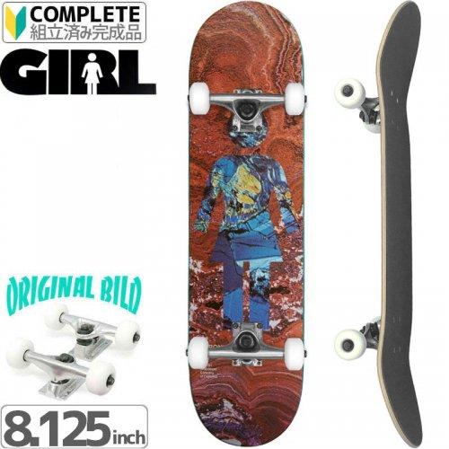 【GIRL SKATEBOARD ガール コンプリート】20/20 CARROLL[8.125インチ]オリジナルビルド NO35