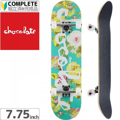 【チョコレート CHOCOLATE スケボー コンプリート】PEREZ FLORAL CHUNK COMPLETE[7.75インチ]NO21
