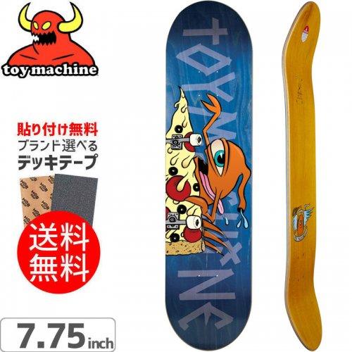 【トイマシーン TOY MACHINE スケートボード デッキ】PIZZA SECT DECK[7.75インチ]NO167