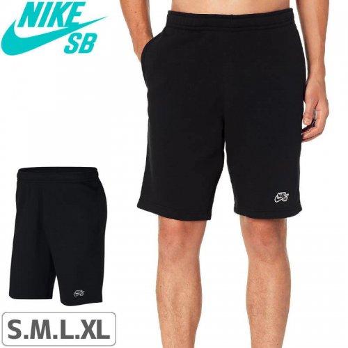【ナイキエスビー ショーツ】NIKE SB Icon Fleece Short【ブラック】NO19