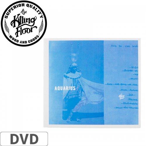 【THE KILLING FLOOR キリング フロアー スケボー 映像作品】AQUARIUS DVD NO1