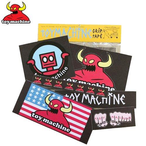 【TOY MACHINE トイマシーン デッキテープ】GRIP STICKER PACK #2【6枚入り】NO1