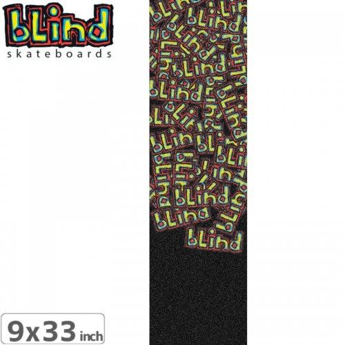 【BLIND ブラインド スケボー デッキテープ】LETTER DROP GRIP TAPE【9x33インチ】NO11