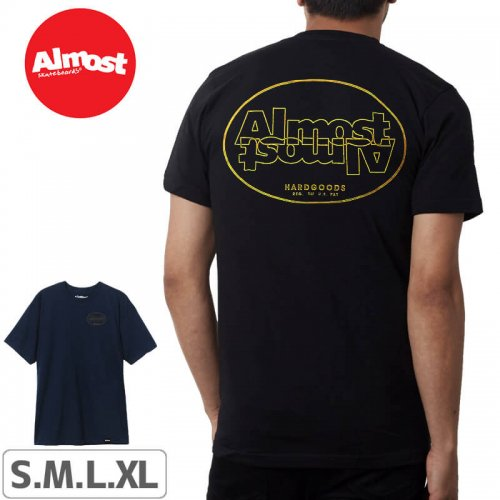 【ALMOST オルモスト スケートボード Tシャツ】Almost Undercover S/S Tee【2カラー】NO39