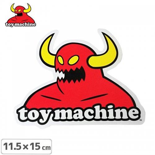 【トイマシーン TOY MACHINE スケボー ステッカー】MONSTER 11.5cm x 15cm NO37