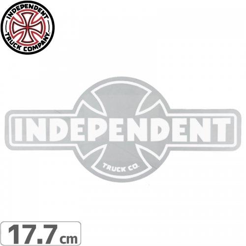 【インディペンデント INDEPENDENT スケボー ステッカー】OG CLEAR MYLAR STICKER【7.9cmx17.7cm】NO105