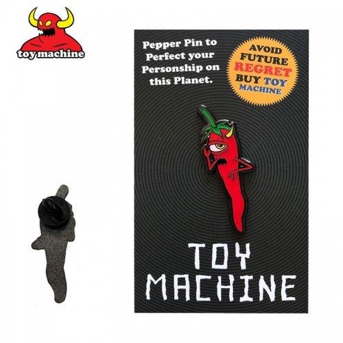 【スケボー ピンバッジ トイマシーン】Toy Machine Pepper Lapel Pin【4.2×1.5cm】NO3