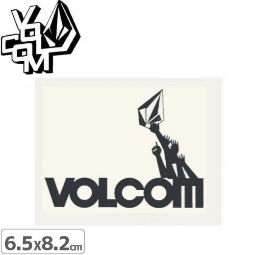 【ボルコム VOLCOM ステッカー】STICKER【6.5cm x 8.2cm】NO353