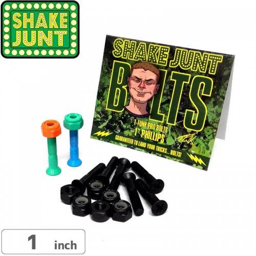【シェイクジャント SHAKE JUNT ハードウェア】T-FUNK PRO BOLTS【1インチ】【プラス】NO12