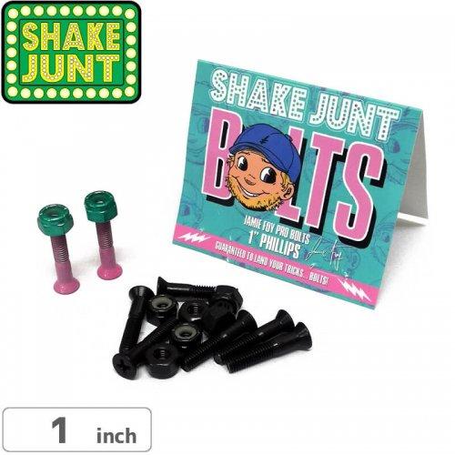 【シェイクジャント SHAKE JUNT ハードウェア】JAMIE FOY PRO BOLTS【1インチ】【プラス】NO14
