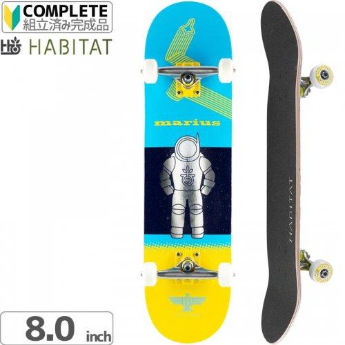 ハビタット HABITAT スケートボード コンプリート】FIN IN SPACE COMPLETE[8.0インチ]NO16