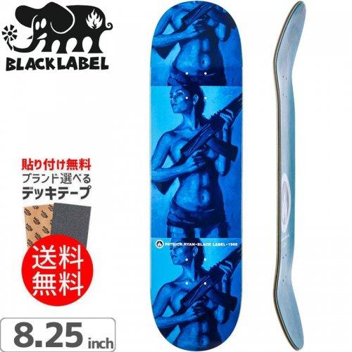 【ブラックレーベル BLACK LABEL デッキ】PATRICK RYAN BULLETPROOF DECK[8.25インチ]NO81