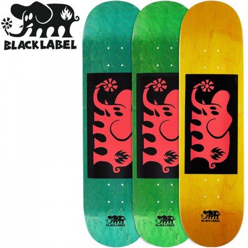 【ブラックレーベル BLACK LABEL デッキ】ELEPHANT BLOCK DECK[8.25インチ]NO82