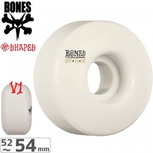 【ボーンズ BONES スケボーウィール】STF V1 BLANK WHEELS 【103A】【52mm】【53mm】【54mm】NO171