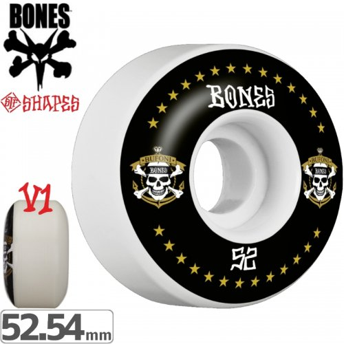 【ボーンズ BONES スケボーウィール】BUFONI LIVE 2 STF V1 WHEELS【103A】【52mm】【54mm】NO177