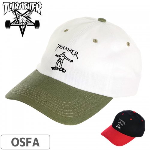 【スラッシャー THRASHER  キャップ】Gonz Old Timer Dad Hat NO45