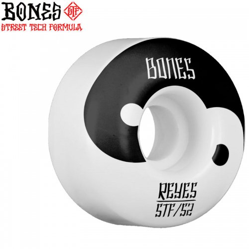 【ボーンズ BONES スケボーウィール】REYES YIN YANG STF V4 WHEELS 103A【54mm】NO182
