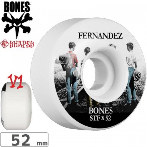 【ボーンズ BONES スケボーウィール】FERNANDEZ CON AMIGOS STF V1 WHEELS【103A】【52mm】NO183
