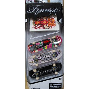 TECH DECK 3 Pack FINESSE テックデッキ 4