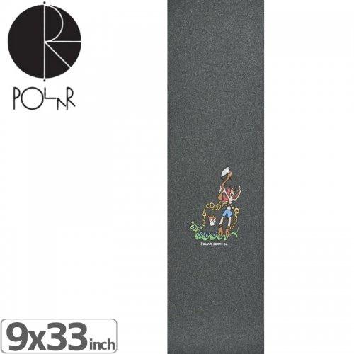 【POLAR ポーラー スケボー デッキテープ】DRAGON RIDE GRIPTAPE【9x33】NO2