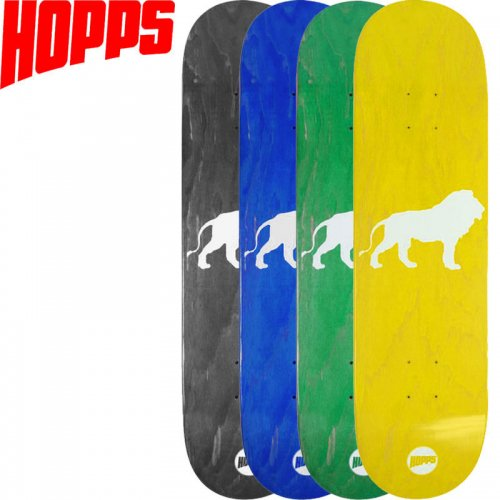 【HOPPS ホップス スケボー デッキ】LION DECK[7.875インチ]NO5