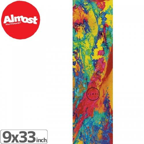 【オルモスト ALMOST スケボー デッキテープ】PSYCHEDELIC GRIPTAPE【9 x 33】NO10